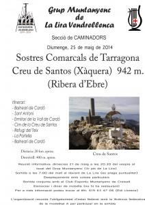 2014_05_25_Cartell_Sortida_Creu_de_Santos