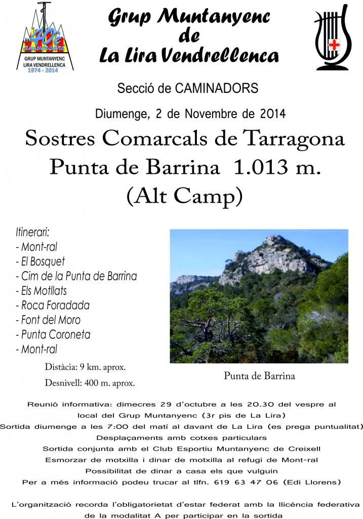 2014_11_02_Cartell_Sortida_Punta_Barrina
